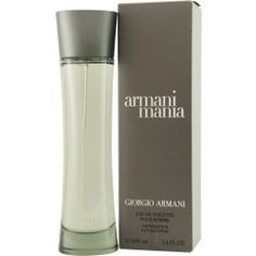 MANIA by Giorgio Armani EDT SPRAY 3.4 OZ for MEN by Giorgio Armani. $73.50. MANIA EDT SPRAY 3.4 OZ MEN. evening cedar, mandarin and amber, a mossy, masculine scent..