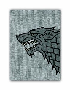 Game of Thrones HBO Art Sleeves House Stark Pack of 50 Sleeves -- Read more  at the image link.(It is Amazon affiliate link) #followforfollow