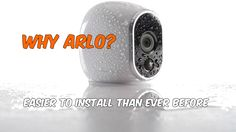 First things first. The Arlo CCTV system is the easiest CCTV unit to install we have ever seen. and this is why…  A truly wireless system. The majority of CCTV systems and cameras on the market claim to be wireless, although this isn't the truth. The majority off cameras are wireless for signal but...