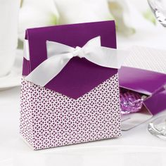 Purple Wedding Favors will make guests feel like royalty. A purple wedding theme is perfect for any season and you will love these purple wedding favors. Purple Wedding Favors, Rustic Wedding Favors, Wedding Favor Boxes, Unique Wedding Favors, Wedding Ideas, Wedding Week, Wedding Colors, Dream Wedding, Wedding Decorations
