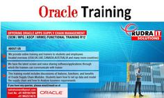 Rudra IT Solutions -- Professional IT corporate, Online and Consulting Company..  Rudra IT Solutions is one of the Promote leading IT Services and corporate training solutions along with IT online training conservatory, with latest Industry  offering technology.   Oracle Apps ASCP online Training in Hyderabad,USA, UK, Australia, New Zealand, UAE, Saudi Arabia, India, Pakistan, Singapore, Kuwait