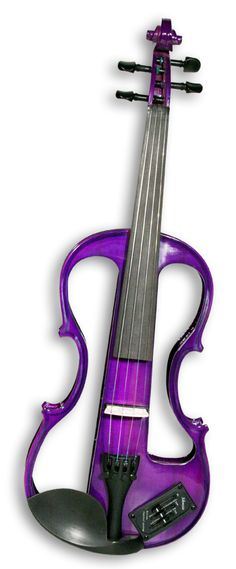 Purple Violin - If I had one like this when I was younger, I would have practiced a lot more.
