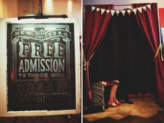 vintage carnival photo booth Gorgeous Photo Booth Ideas For Your Wedding Reception