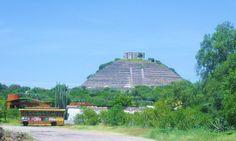 "Piramide de ""El Pueblito"" - Arqueología Mesoamericana - Municipio de Corregidora, Estado de Querétaro, México."