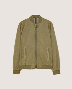 Image 8 of BASIC BOMBER JACKET from Zara