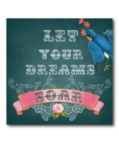 Another great find on #zulily! 'Dreams Soar' Gallery-Wrapped Canvas #zulilyfinds