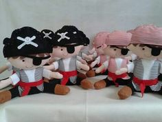 Centro de mesa Piratas!