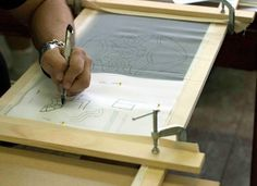 Tutorial on Tambour Beading and how to make the Tambour Frame