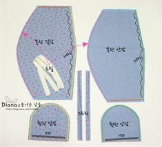 [공유] (과정샷) 아기 보넷 만들기 : 네이버 블로그 Sewing Hacks, Sewing Ideas, Reborn Dolls, Sewing Patterns, Projects To Try, Quilts, Closet, Beanies, Molde