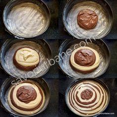 Cheesecake zebră sau rețeta de pască fără aluat (în două culori)   Savori Urbane Sausage, Meat, Decor, Sweets, Decoration, Sausages, Decorating, Deco, Chinese Sausage