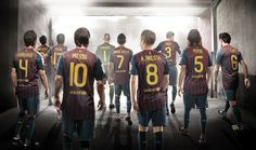 Legendy FC Barcelony.
