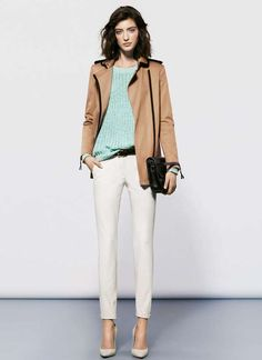The Mango Spring 2013 Lookbook is Cool and Refreshing #fashion trendhunter.com