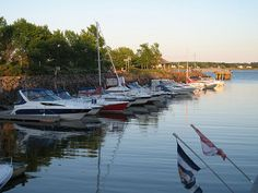 Boats on Peake's Wharf on Prince Edward Island