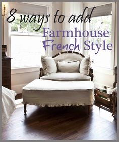 How to re-style your home with a farmhouse French twist while staying on budget.