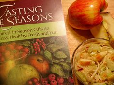 Tasting the Seasons, by Kerry Dunnington explores how we can apply sustainable practices to our everyday lives with taste-filled recipes and practical eco-friendly, all-occasion tips.