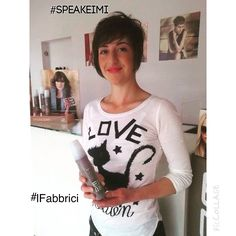 #SpeakEimi #Wella #IFabbrici #haircut #Lucca