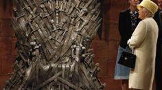 Queen Elizabeth visits 'Game of Thrones' set, declines Iron Throne