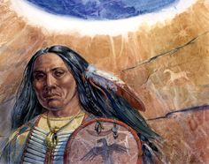 Tales of the Past by Geraldine Aikman Painted in gouache, which enables me to make interesting textures as well as paint very detailed work. (comments by artist) Stock Art, Gouache, American Indians, Nativity, The Past, Art Gallery, Fine Art, Native Americans, Portrait