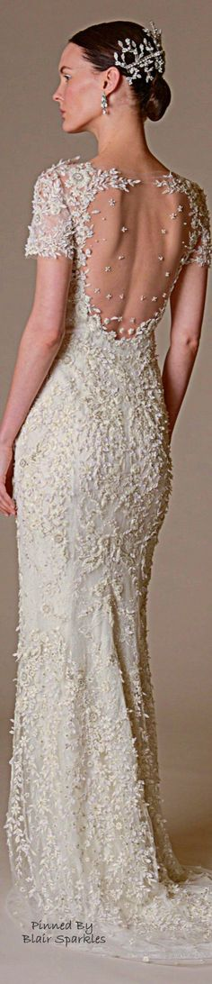 Marchesa Bridal Spring 2016   ♕♚εїз BLAIR SPARKLES