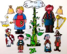 Jack and the Beanstalk Felt Board Story Set byMaree on Etsy, $20.00