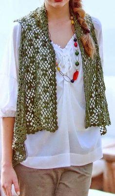 cutecrocs.com crochet vest (44) #crocheting
