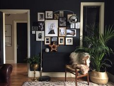 A Dark and Moody Home in England | Design*Sponge