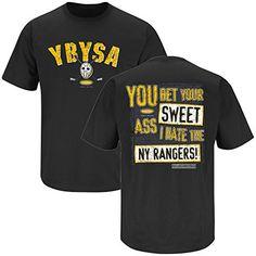 Boston Bruins Fans. YBYSA (Anti-NY Rangers). T-Shirt d15cf9e69