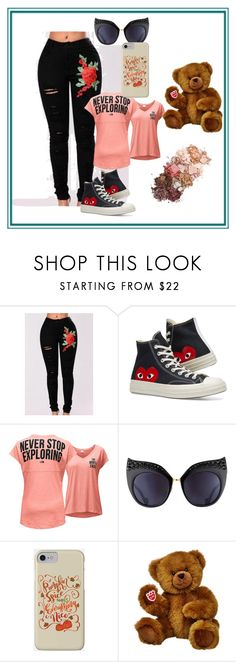 """Bez naslova #319"" by amela-337 ❤ liked on Polyvore featuring WithChic, Converse, The North Face, Anna-Karin Karlsson and Sigma"