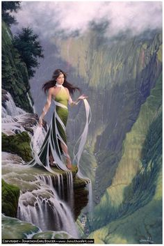 Celtic Goddess Sulis (eye or seeing) was the local goddess of the springs at what is now known as Bath in south-west England. Sulis oversees all sacred wells and springs, which give healing and other blessings to those who pray at them.