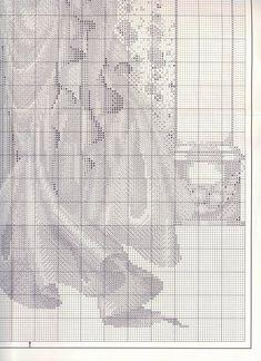Rose of Sharon 7 Needlepoint, Cross Stitch Patterns, Needlework, Hobby, Stitches, Lavender, Craft, Rose, Girls