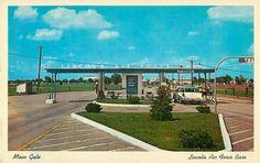 Lincoln Air Force Base-----Main Gate-1950's