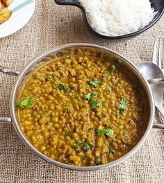 Moong Dal Khilma Recipe Spicy Green Gram Rajasthani Style My Indian Taste. Chicken Recipes For Kids Great British Chefs - The Golden Ways Spicy Recipes, Curry Recipes, Veggie Recipes, Vegetarian Recipes, Veggie Meals, Lentil Recipes Indian, Indian Food Recipes, Ethnic Recipes, Vegetarian Gravy
