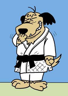 Judo Muttley by Lynn Buchanan