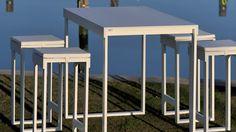 Muebles para exterior de la marca Oi Side con el diseño de vanguardia http://www.elemento3.com/