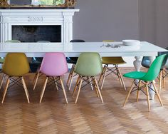 Colour Pop Seating Dining Rooms, Dining Table, Colour Pop, Eames, Boutique, Chair, House, Inspiration, Furniture