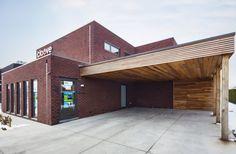 Woning en winkel in Gits   Dewaele Houtskeletbouw