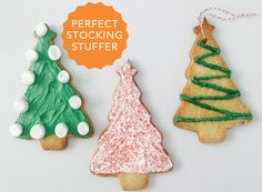 Give the gift of our premium Sugar Cookie Mix with a Christmas tree cutter this holiday season! This set is perfect for hostess gifts and stocking stuffers. We promise your friends and family will cherish the memories of baking and decorating these festive cookies. Makes 12 tree cookies. Christmas Treats, All Things Christmas, Christmas Time, Christmas Recipes, Tree Cutter, Tree Cookies, Cute Kitchen, Sugar Cookies Recipe, Cupcake Cakes
