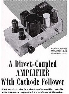 Direct-Coupled 6V6 Cathode Follower Amplifier