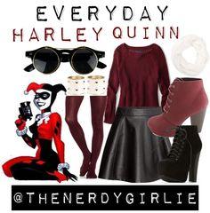 Everyday Harley Quinn