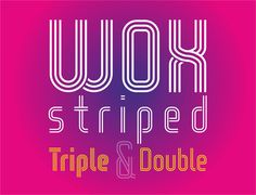 wox-striped-triple-demo-font