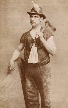 Image of a Cornish Miner
