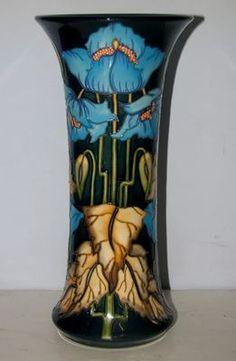 Blue Rhapsody Collectors Club moorcraft art nouveau pottery ceramics clay