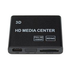 VicTsing Mini HD TV Multimédia Boîtier Lecteur USB 1080P HDMI AV YUV Adaptateur SD MMC MS Remote avec Multi-fonctions Conception à la mode et Pratique: Amazon.fr: High-tech
