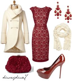 """Christmas Party"" by disneydiva7 ❤ liked on Polyvore"