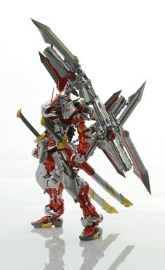 Custom Build: MG 1/100 Gundam Astray Red Frame Kai + Caletvwlch - Gundam Kits Collection News and Reviews