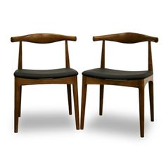 Baxton Studio Sonore Dining Chair - Set of 2 - Dining Chairs at Hayneedle
