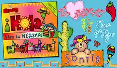 Buy 'Hola' during our 'Buena Fiesta' sale & enjoy $ 1 off the regular price! Que bueno! (But hurry... this sale ends April 28, 2013) This 'muy lindo' (very cute) clip art collection is perfect for travel scrapbooks, Spanish class and sending notes to friends in español! Go to product: http://www.djinkers.com/hola.html