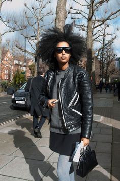 Pin for Later: Ciao, Milano! The Best Street Style From MFW LFW Street Style Day Five Juila Sarr-Jamois