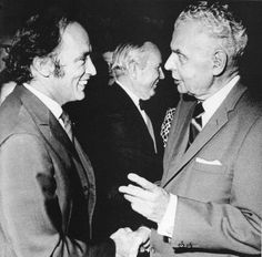 Pierre Trudeau and John Diefenbaker