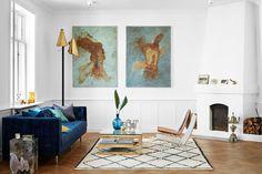 Modern Scandi Living Room   Living Room Design Ideas